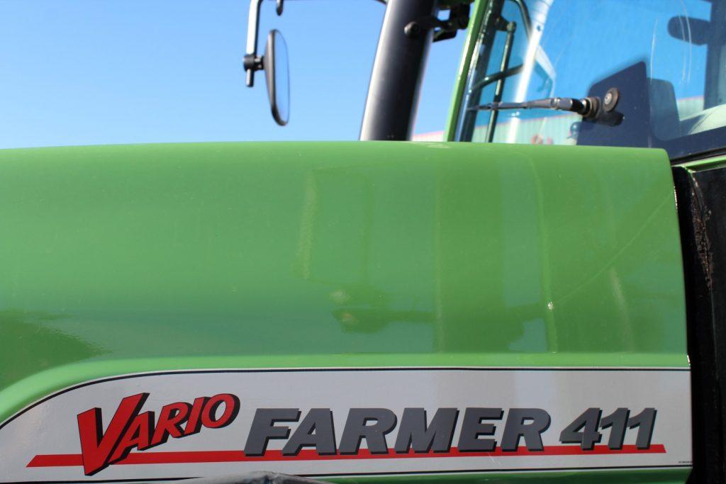 Fendt Farmer 411 Vario cheio
