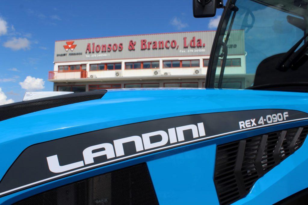 Landini Rex 4-090 F (Novo Modelo) cheio