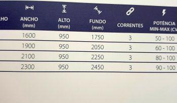 DESTROÇADOR LANDINI DDE 1800 cheio