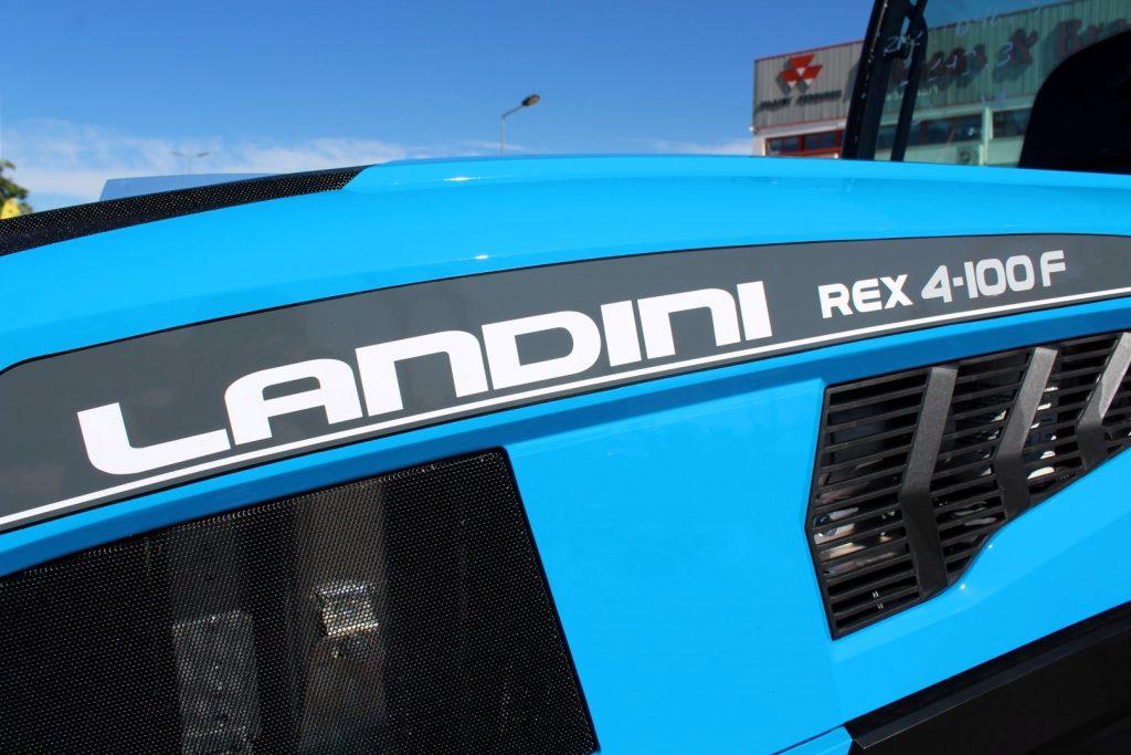 LANDINI REX 4-100 F (NOVO MODELO) cheio
