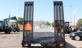 Reboque Porta Maquinas JA&MA Reboal cheio
